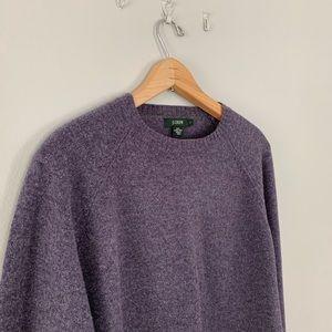 J. Crew Men's Wool Sweater